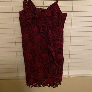 Guess textured dress